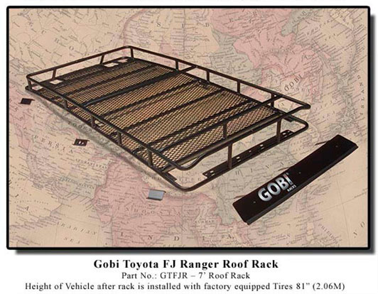 Gobi Ranger FJ Cruiser Roof Rack w/ FREE Ladder & Shipping!