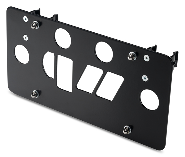 Warrior Products Universal License Plate Brackets - Fairlead License Plate Mount