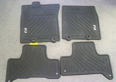 All new, genuine all-weather Toyota FJ Cruiser floor Mats 2011+ Models