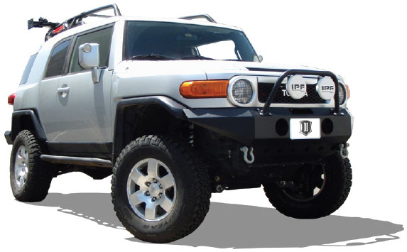 Icon Vehicle Dynamics 5 - 7 Adjustable Coil-Over Shocks 2007-UP [58641-CB]  - $1,259 96 : Pure FJ Cruiser, Parts and Accessories for your Toyota FJ
