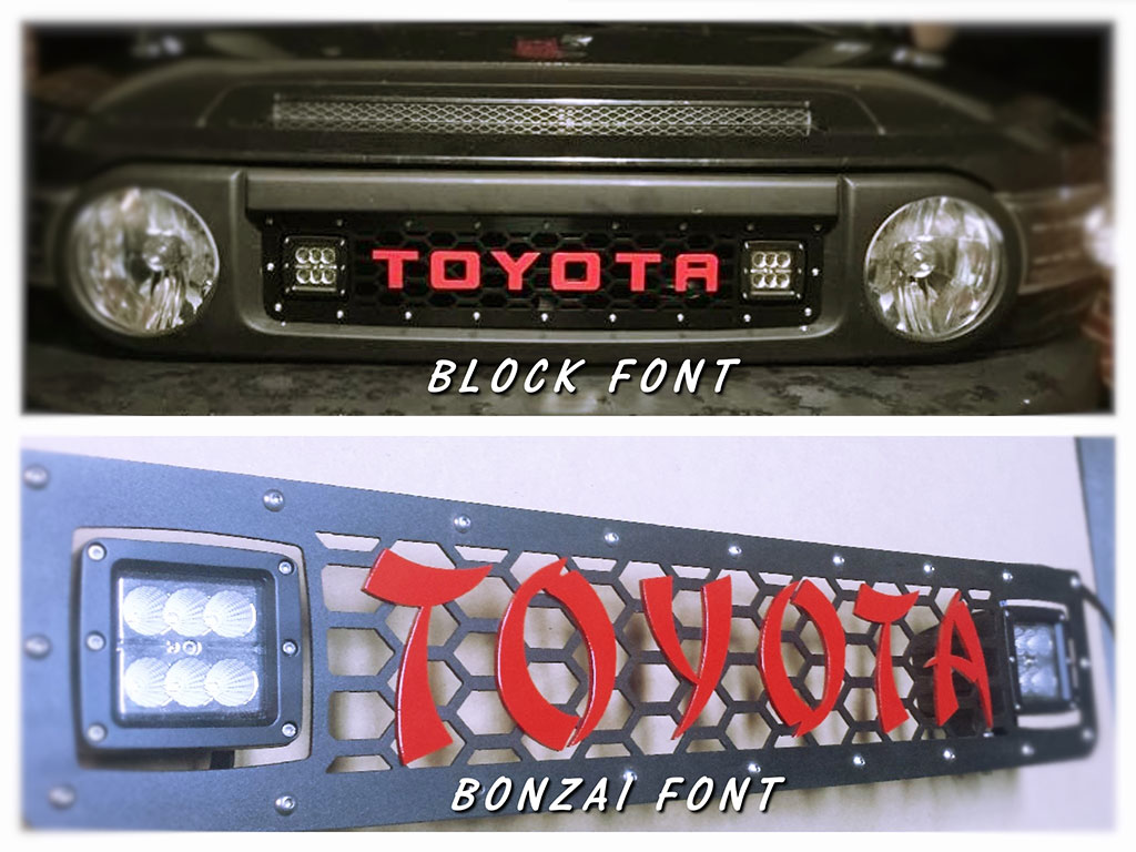 "DB Customz Grille insert for 3"" Square Lights"