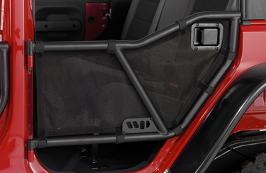 FJ Cruiser Safari Tube Mesh Door Covers by Warrior Products