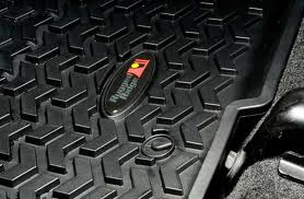 Rugged Ridge FJ Cruiser Front Rubber Floor Mats 2012+