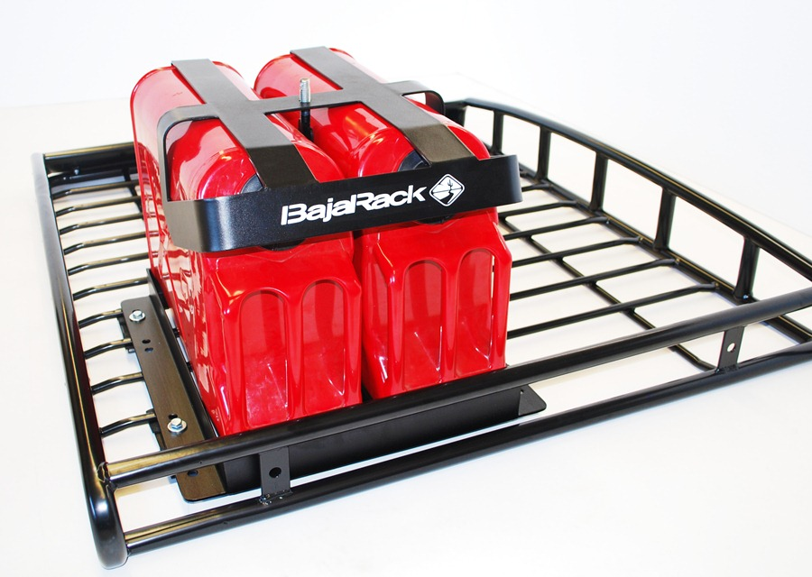 Baja Rack Fuel Can holder for two 5 Gal Cans