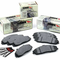 Hawk Performance FJ Cruiser Brake Pads - HPS: Rear
