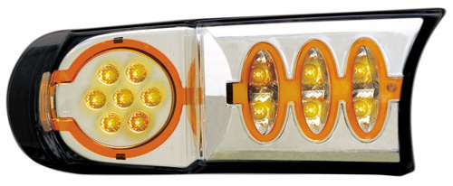 IPCW 07-UP FJ Cruiser Park Lights Front - Crystal Clear / LED