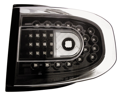 IPCW 07-UP FJ Cruiser Tail Lights - Bermuda Black / LED