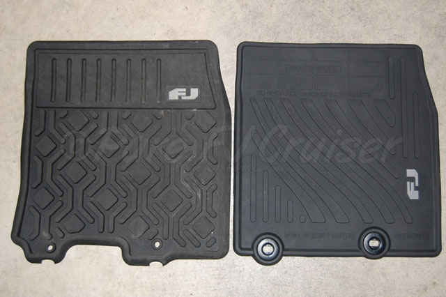 2007 fj cruiser floor mats floor matttroy. Black Bedroom Furniture Sets. Home Design Ideas