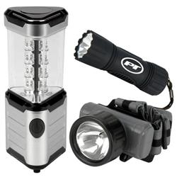 Performance Tool Multipurpose Light - LED; Flashlight & Lantern; AA&AAA Batteries