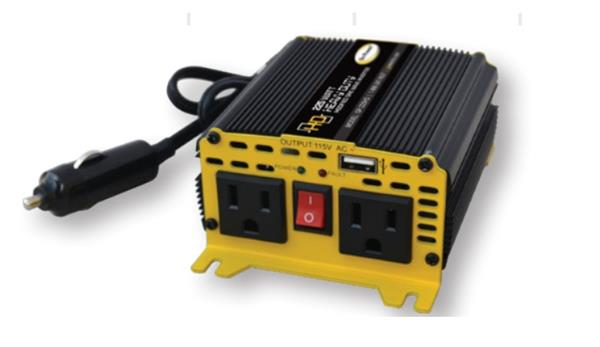 Go Power Power Inverter; Inverts 12Volt DC to 110 Volt AC