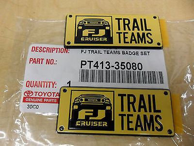 FJ TRAIL BADGE - TOYOTA (PT413-35080)