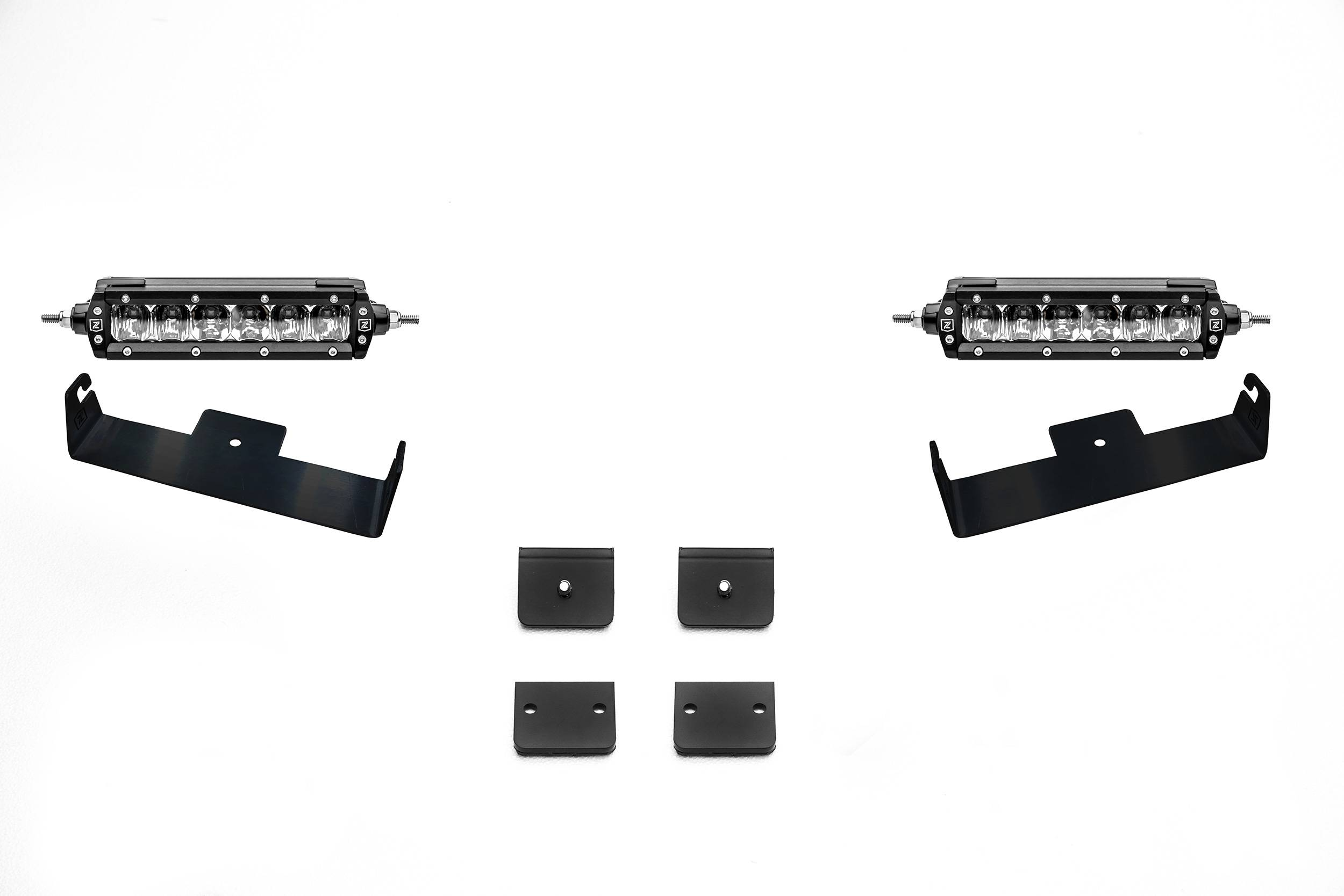 T-Rex ZRoadZ FJ Universal Panel Clamp LED kit, Inc (2) 6in LED Slim Light Bars - Ships Free