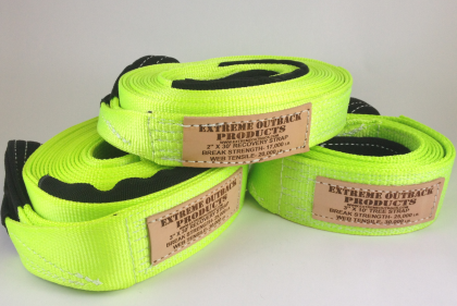 "Extreme Outback High Visibility 2"" Recovery Strap"