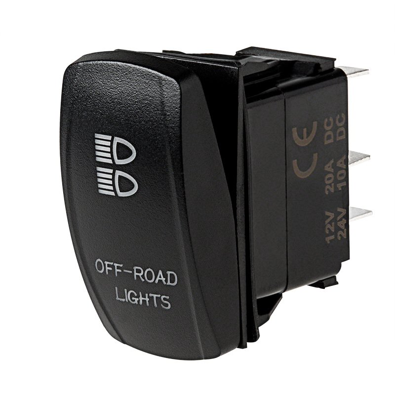 LED Rocker Switch with Legend