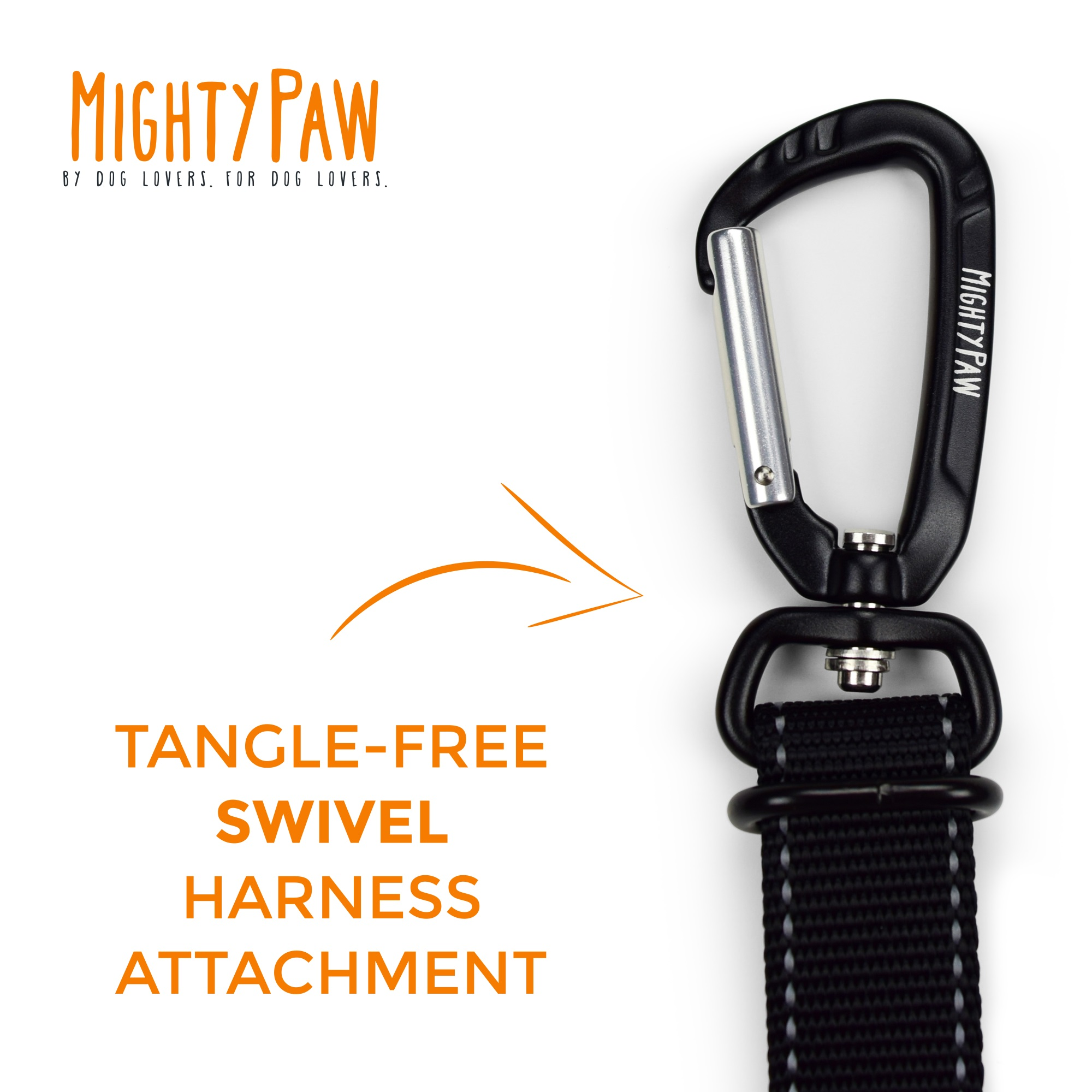 Mighy Paw Vehicle Safety Belt for Fido
