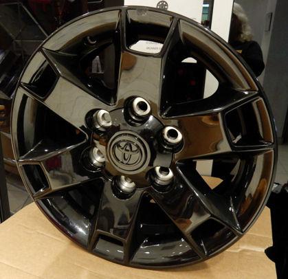 Toyota FJ 16 inch Alloy Baja Glossy Black [PT758-35080] - $208 25 : Pure FJ  Cruiser, Parts and Accessories for your Toyota FJ Cruiser