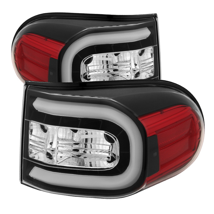 Spyder Toyota FJ Cruiser 07-13 Light Bar LED Tail Lights - Black
