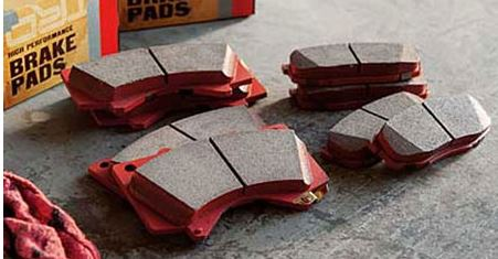 Toyota TRD Performance Brake Pads, Rear