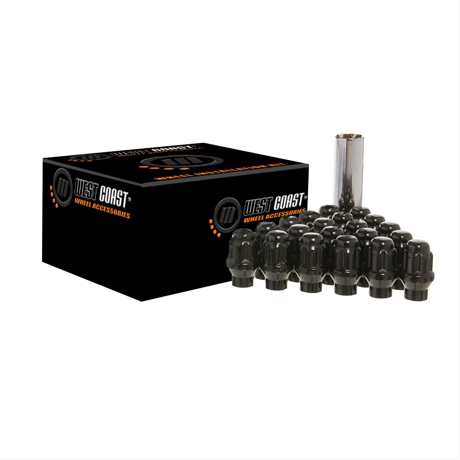 Method Lug Nuts - Black