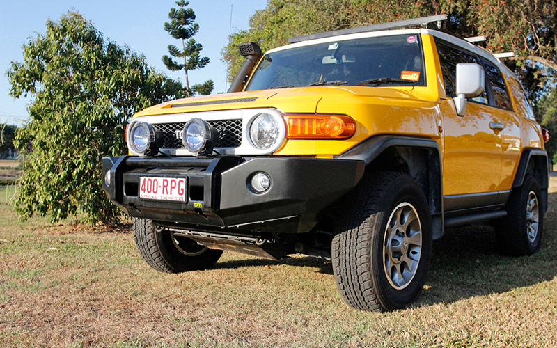 TJM FJ T3 Winch Bar Bumper