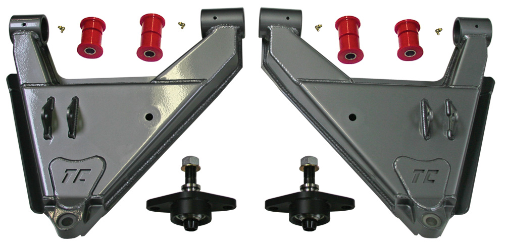 Total Chaos Stock Uniball Lower Control Arms with Dual Shock Capability - 2010+ FJ Cruiser