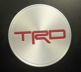 "TRD 17"" FORGED ALLOY CENTER CAP"