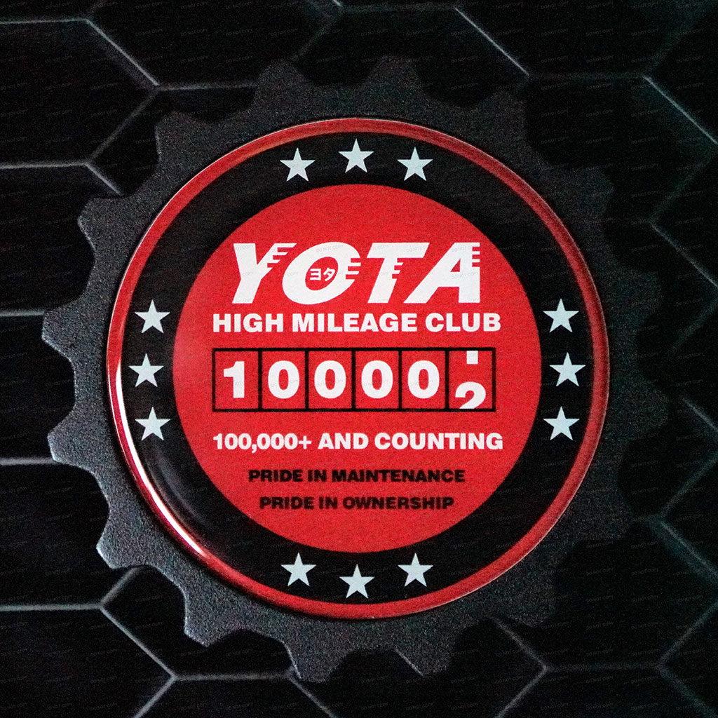 100K Mile Badge