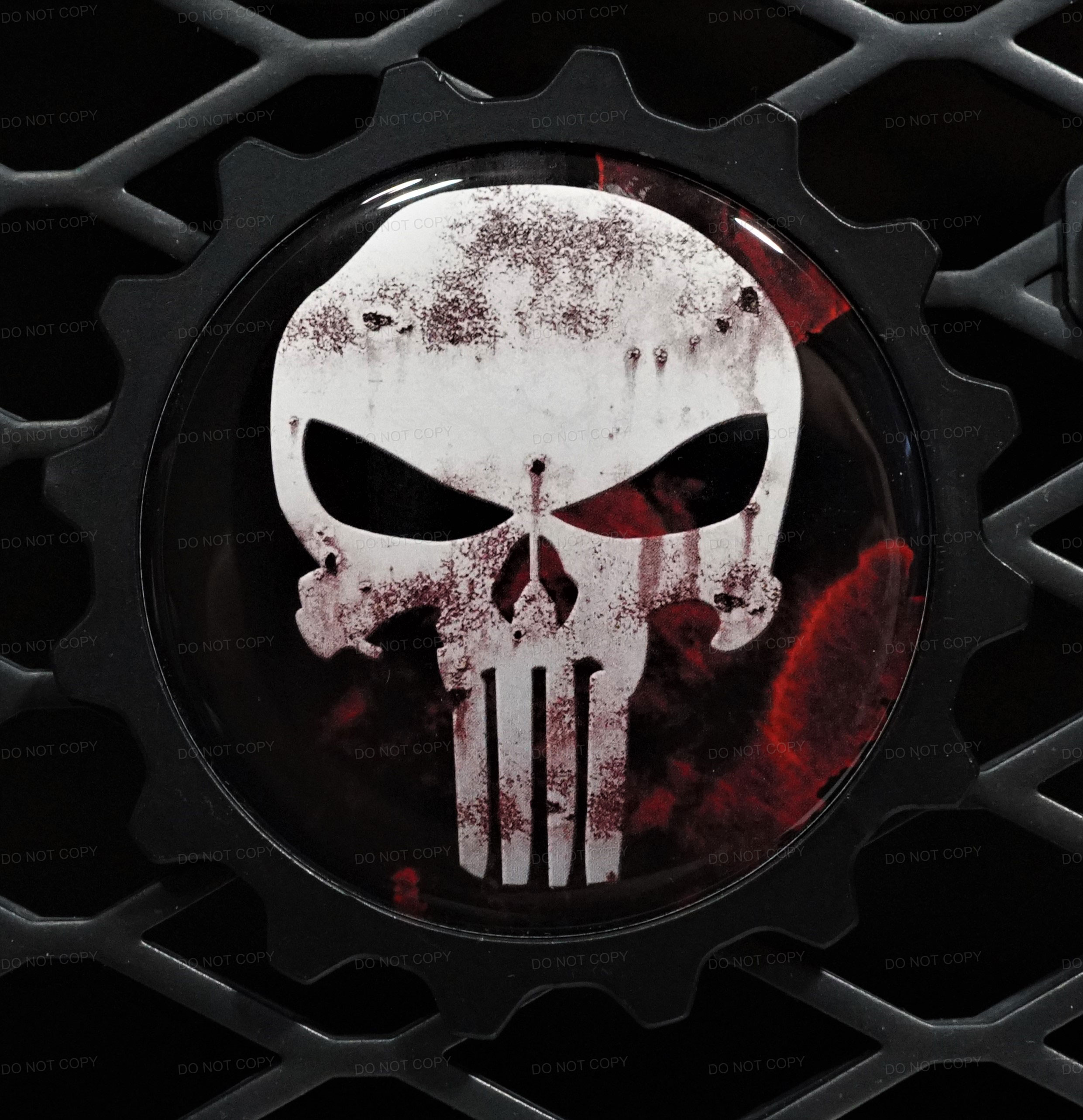 Punisher Badge