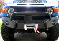 Road Armor Stealth Front Bumper with Bull Bar for FJ Cruiser