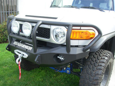 Road Armor Stealth Front Bumper with Titan Guard 2006-2014