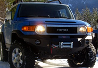 Road Armor Stealth Base Front Bumper for FJ Cruiser