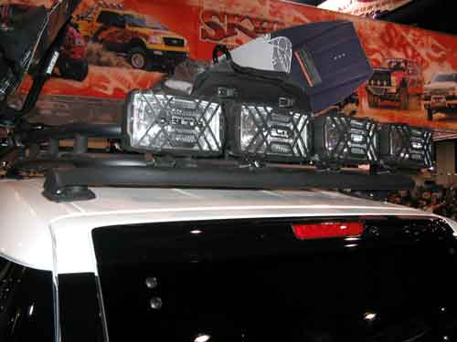 N-Fab Rear FJ Cruiser Light Bar (w/ or w/out roof rack)