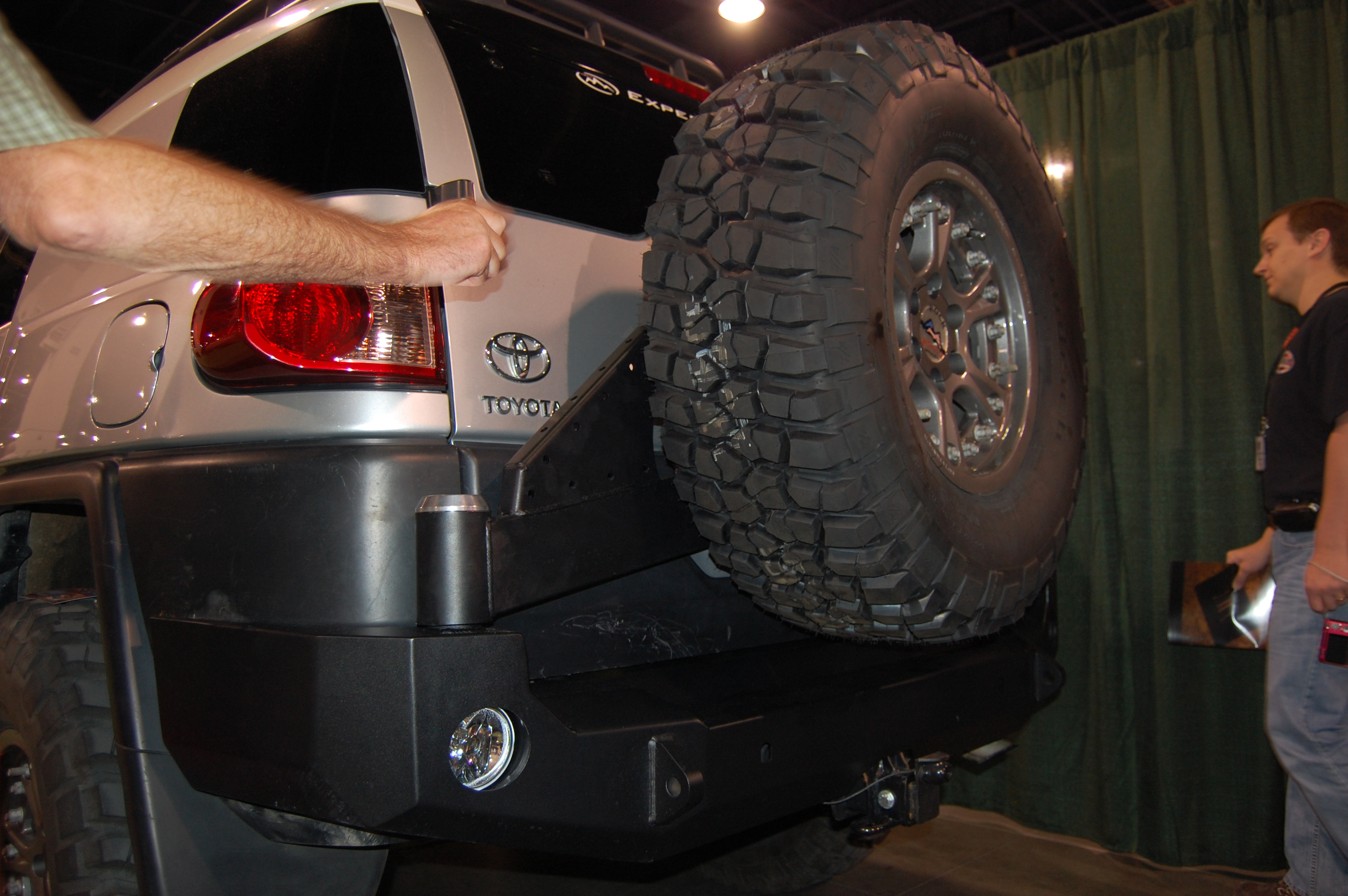 Expedition One Trail Series Rear Bumper With Smooth Motion